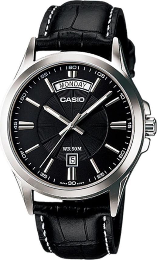 Đồng hồ nam dây da Casio MTP-1381L-1AVDF