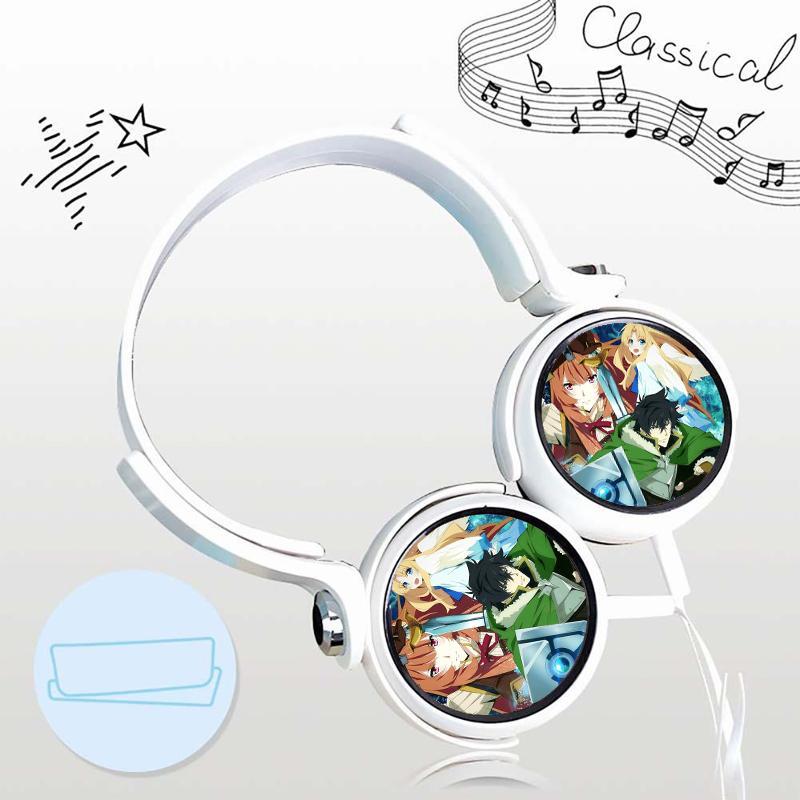 Tai nghe Tate no yuusha no nariagari anime chibi thiết kế thông minh cá tính cắm dây có mic