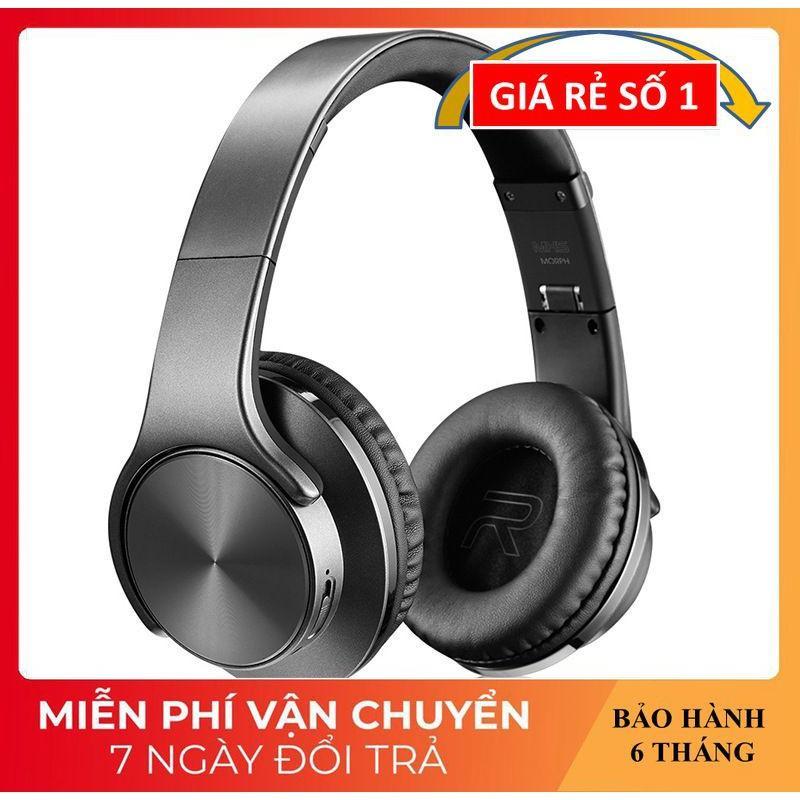 Tai Nghe Chụp Tai ️️ Tai Nghe Bluetooth Cao Cấp Âm Thanh Sống Động - Tai Nghe Không Dây MH5 Kiêm Loa Nghe Nhạc