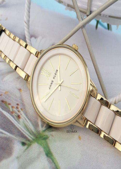 Đồng hồ đeo tay nữ hiệu Anne Klein AK/1412IVGB