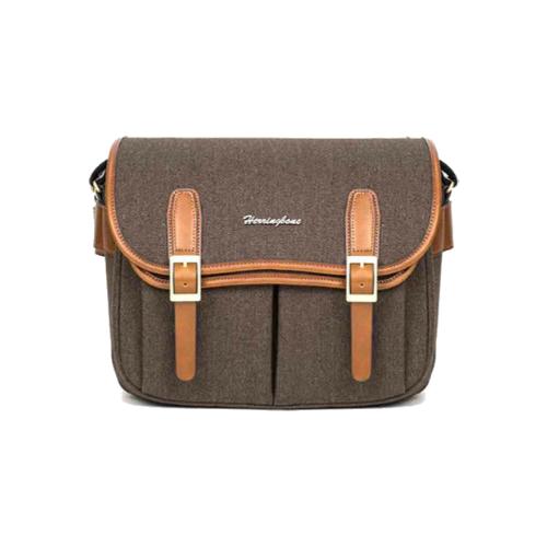 Túi máy ảnh Herringbone Maniere Large - Brown color