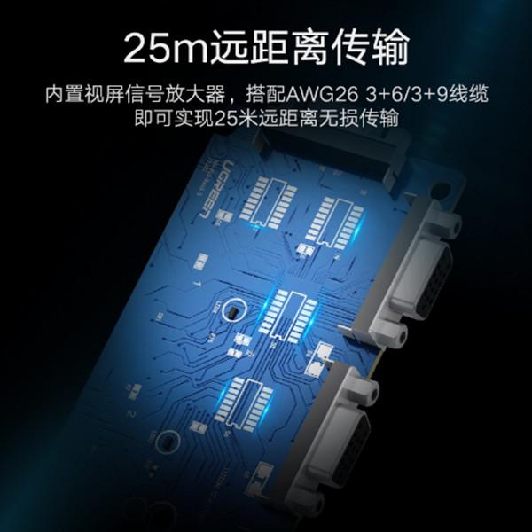 Bộ gộp VGA 4 vào 1 ra Hỗ trợ full HD 500Mhz chính hãng Ugreen 50279 cao cấp
