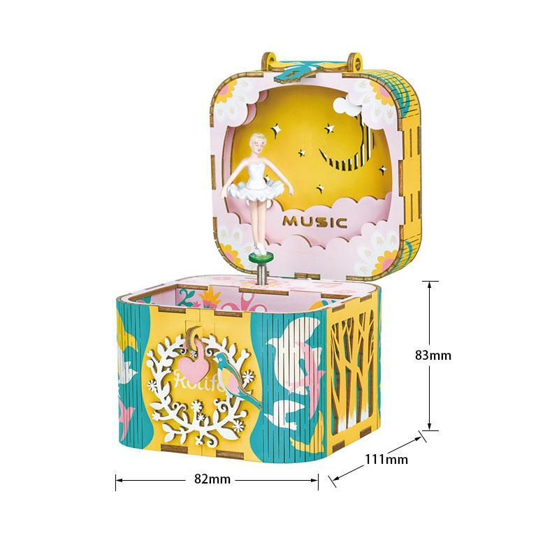 Mô hình Hộp nhạc Vũ Công Bale - Dancing Ballerina Music Box AMD52