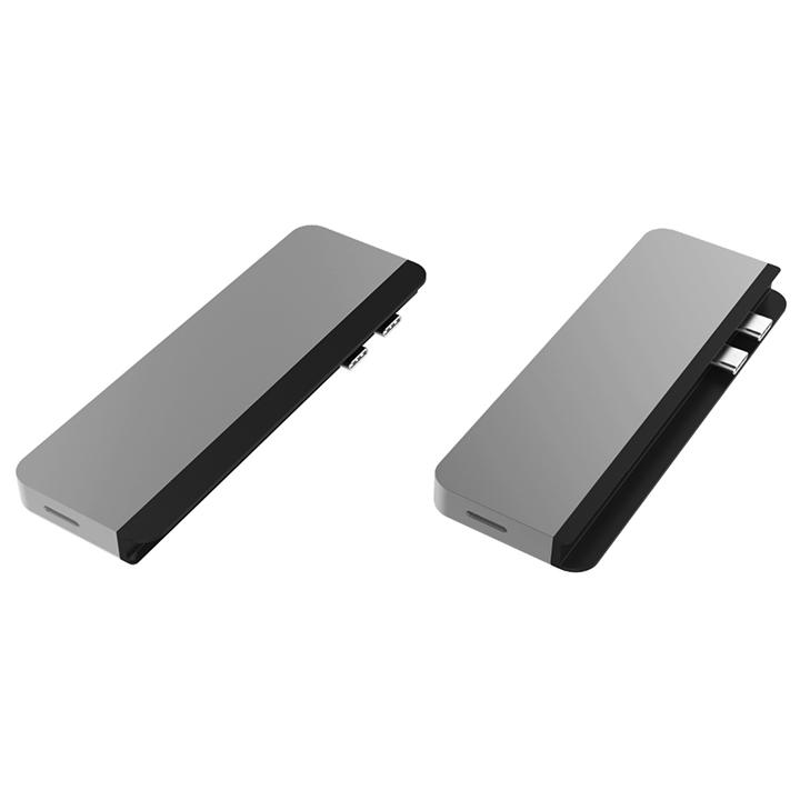 Cổng Chuyển Hyperdrive Duo 7-In-2 Hdmi 4K60HZ With Cable USB-C Hub For Macbook/IpadPro/Laptop/Smartphone - Hàng Chính Hãng