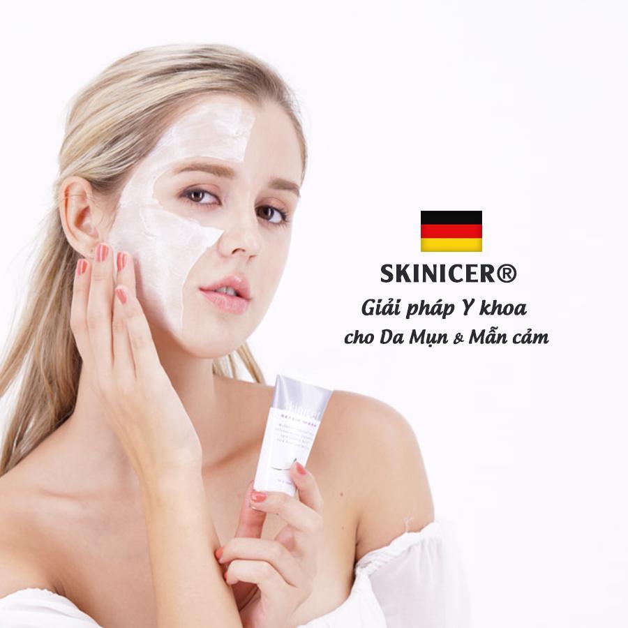 Mặt Nạ Tái Tạo Da Tẩy Tế Bào Chết Se Khít Lỗ Chân Lông Skinicer Repair Mask 40ml - Đức
