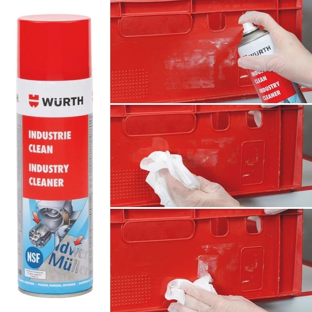 Chai xịt tẩy keo, nhãn dán, decal chuyên dụng Wurth WU-TK500 893140