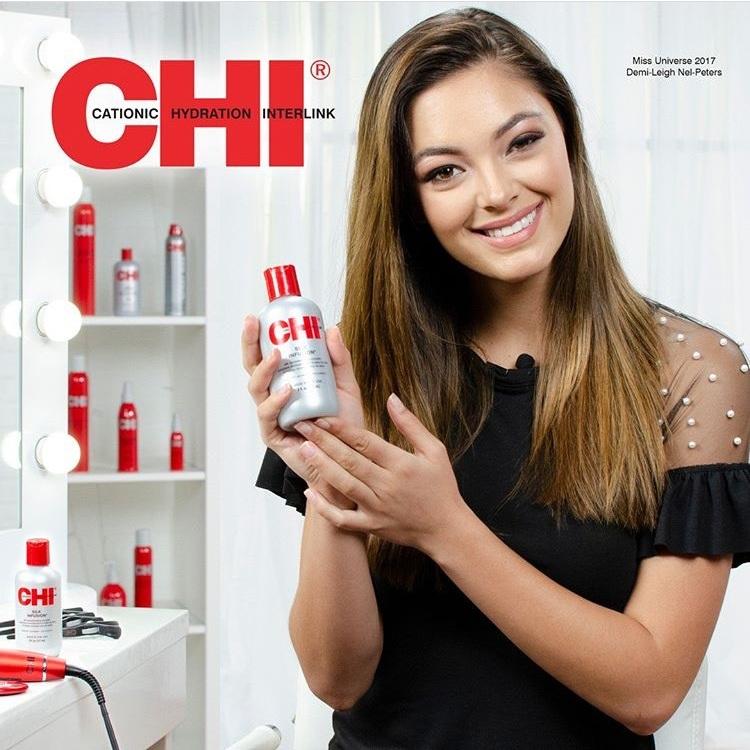 Dầu dưỡng CHI Silk INFUSION bóng tóc 59ml - USA