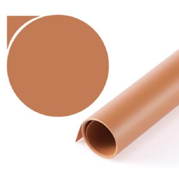 Phông nền nhựa PVC chụp ảnh sản phẩm màu cafe kích thước 50x60cm