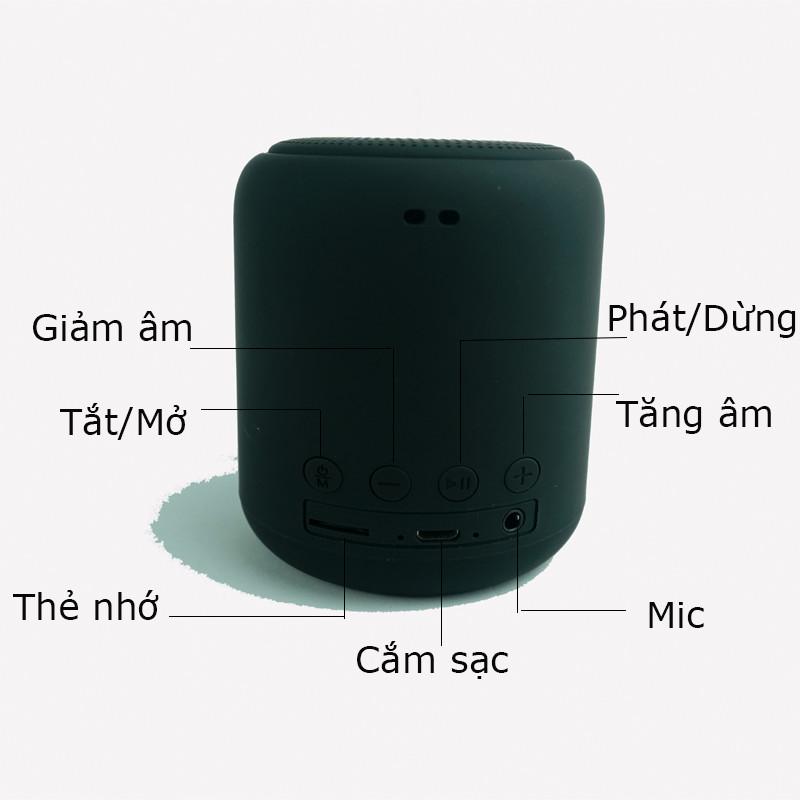 Loa Nghe Nhạc Bluetooth Mini Nhỏ Gọn Tiện Lợi Dễ Dàng Mang Đi  Kết Nối Máy Tính, Điện Thoại, Ipad, Karaoke  Âm Thanh Cực Chuẩn Giá Tốt PKCBL01 - Hàng Chính Hãng