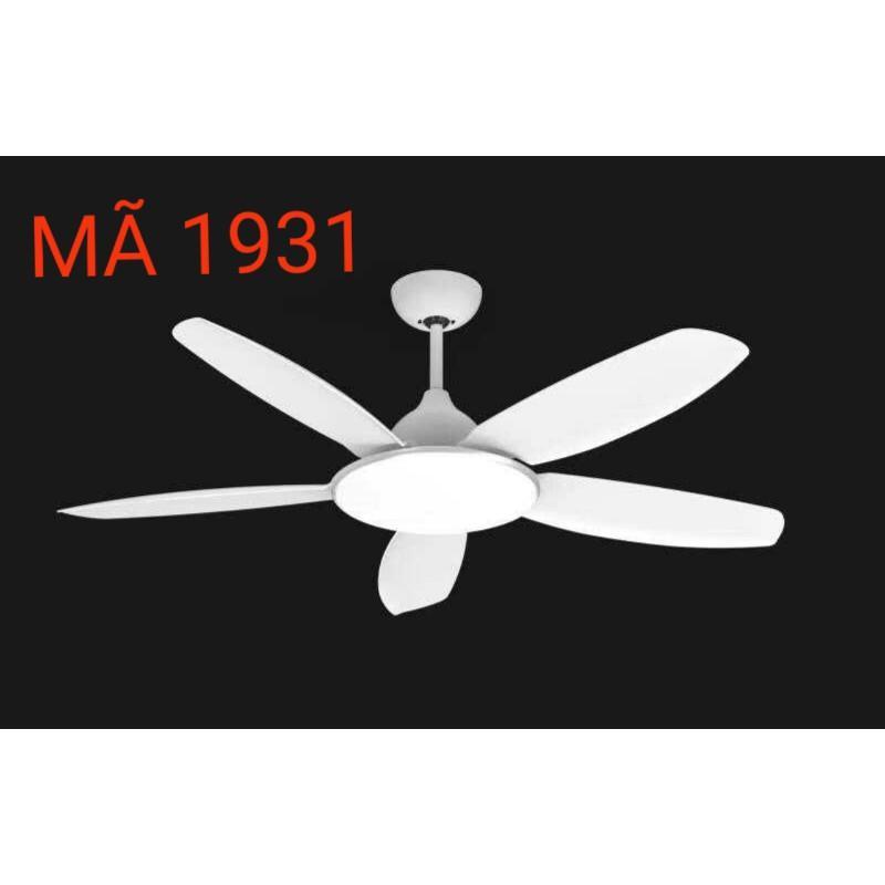 Quạt Trần mã 5491A Có Remote 6 Cấp Độ Gió, 3 Chế Độ Đèn Công Xuất 90W trang trí nội thất sang trọng