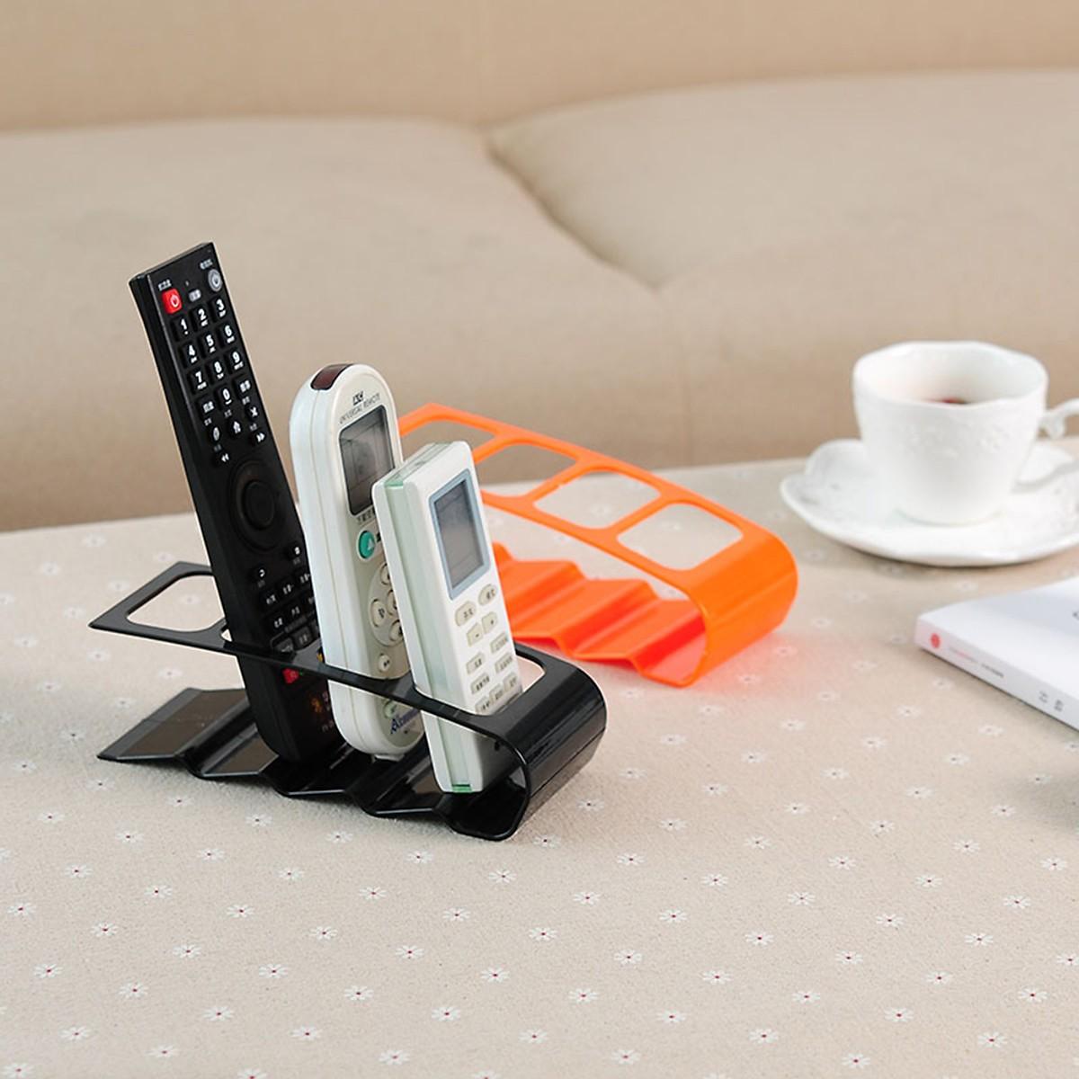 Giá Đỡ Remote 4 ngăn Để Bàn cao cấp (Giao màu ngẫu nhiên) - Hàng nhập khẩu