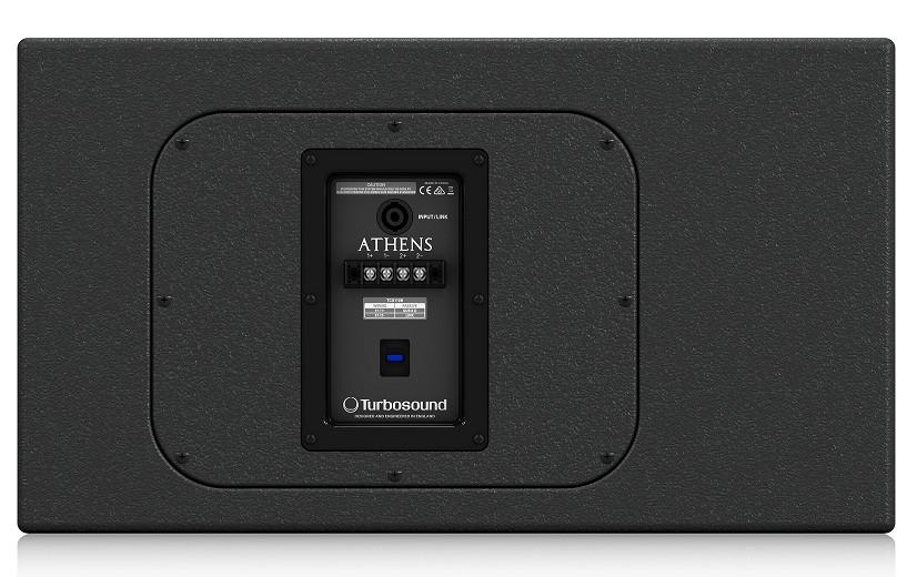 Loa Turbosound ATHENS TCS110B - 1200W Band Pass Subwoofer - Black- Hàng Chính Hãng