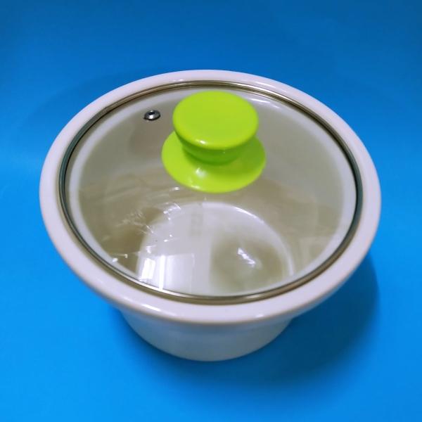 Nồi hầm chậm đa năng dung tích 1,5 l màu xanh lá (hầm cháo, tiềm gà)