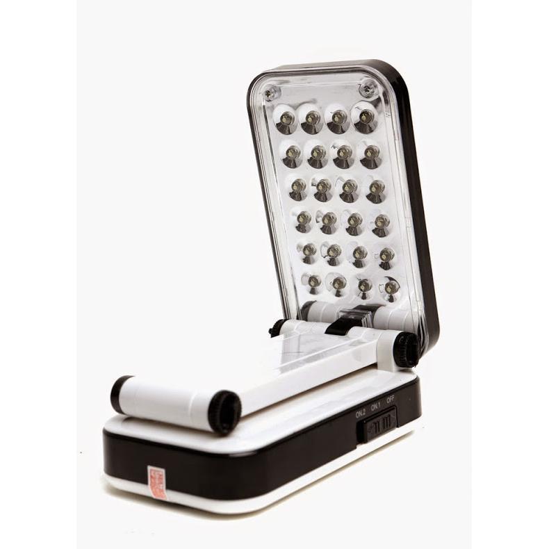 Đèn LED sạc để bàn APPLE 24 bóng LED-666