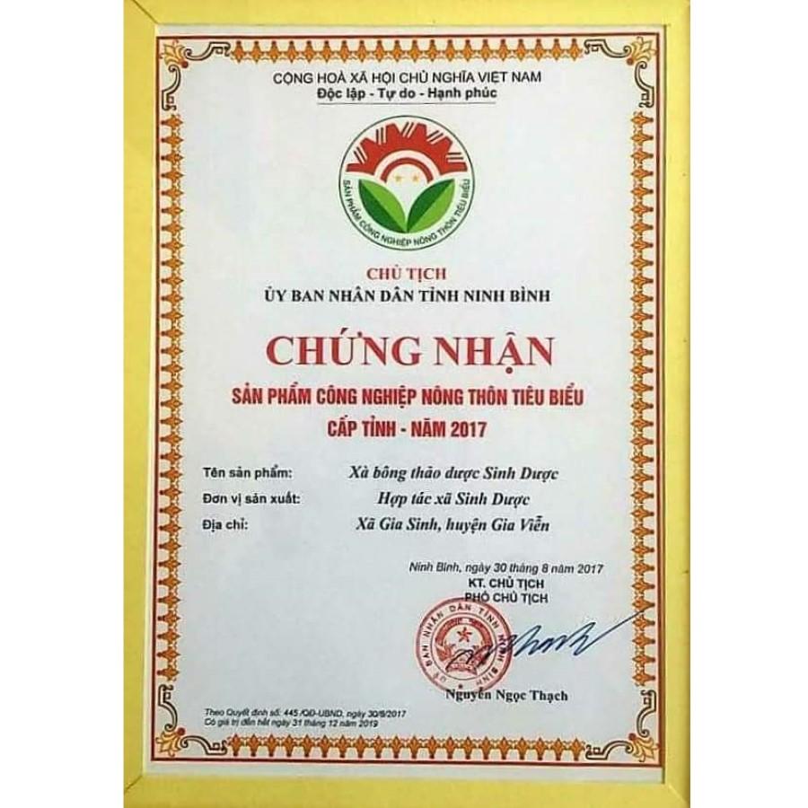 Combo 02 Xà bông thảo dược Sả chanh HTX Sinh Dược - 100% từ nguyên liệu tự nhiên