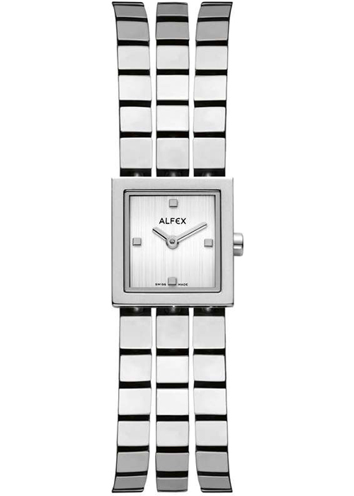 Đồng Hồ Nữ Dây Kim Loại Alfex (18 x 18 cm)