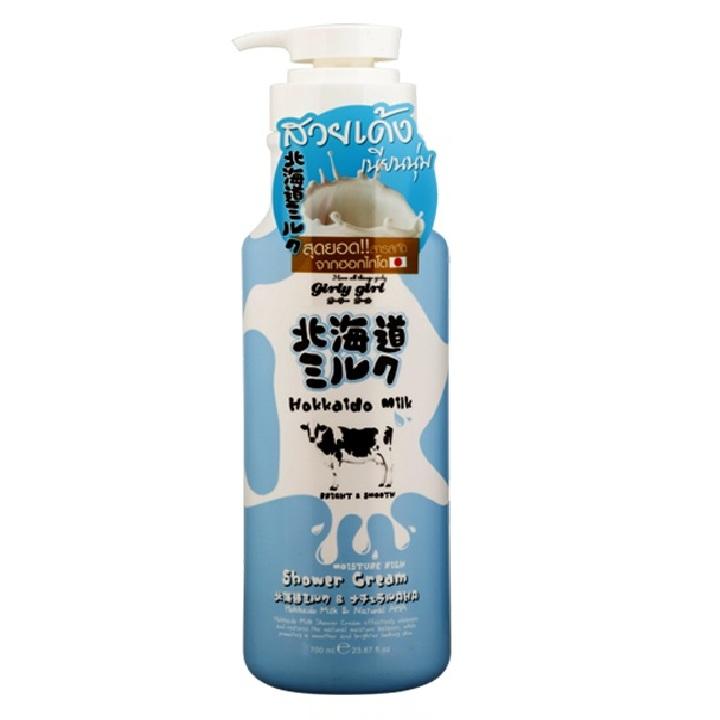 Sữa Tắm Dưỡng Ẩm Và Làm Sáng Mịn Da Từ Hokkaido Made In Nature 700ml