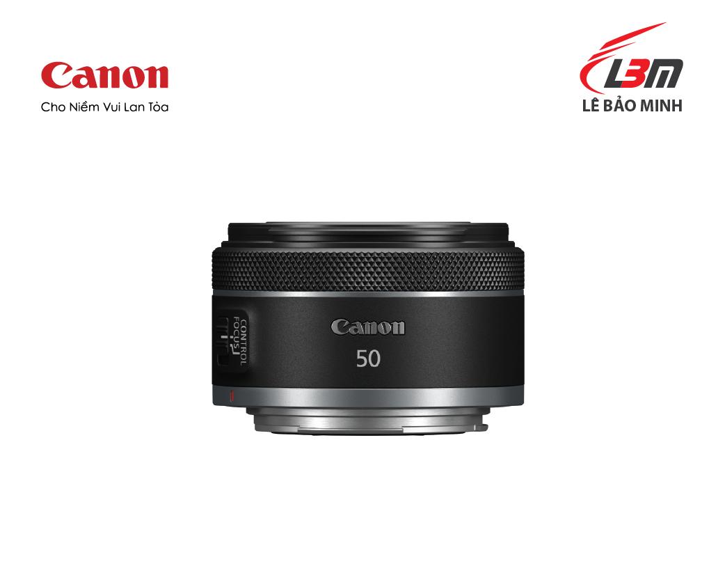 Ống kính Canon RF50mm f/1.8 STM - Hàng Chính Hãng