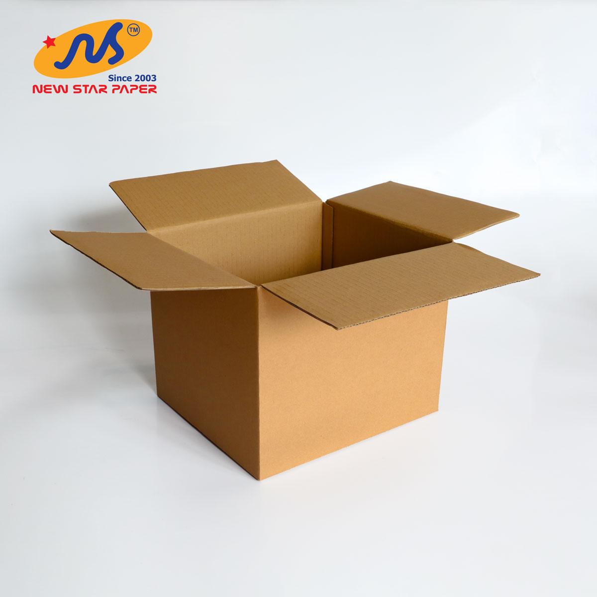 25x22x20 - Combo 10 thùng giấy carton gói hàng