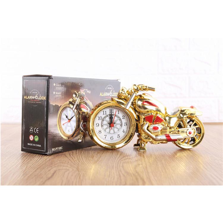 Đồng hồ trang trí để bàn hình xe mô tô độc đáo