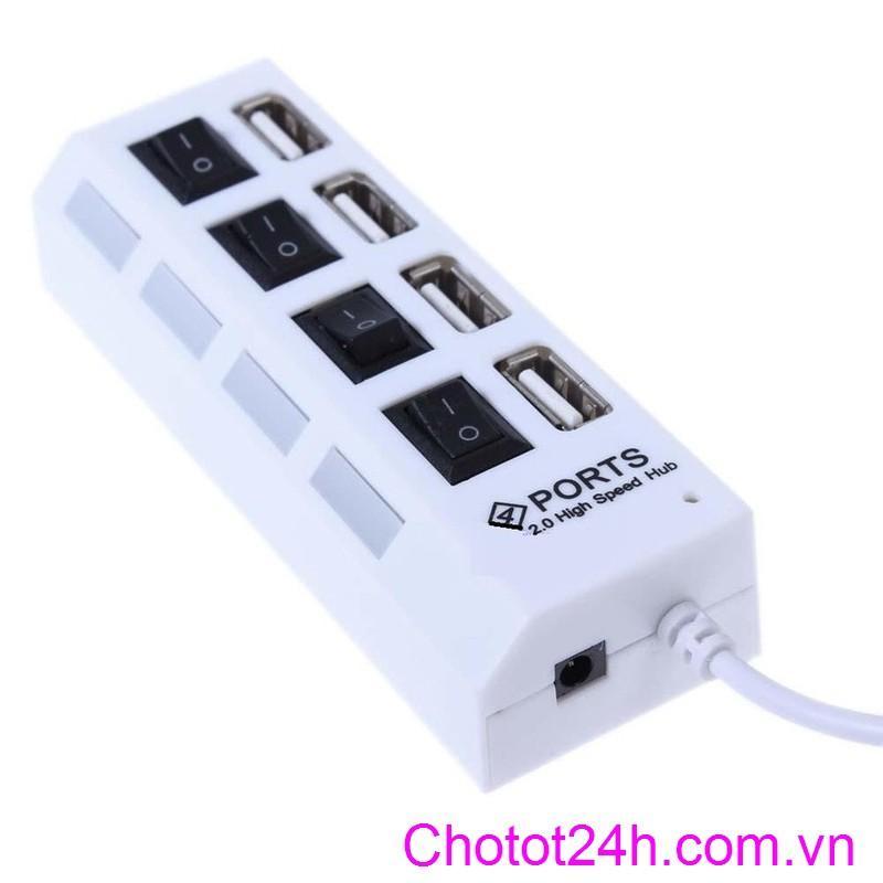 Hub USB 4 cổng hình ổ điện