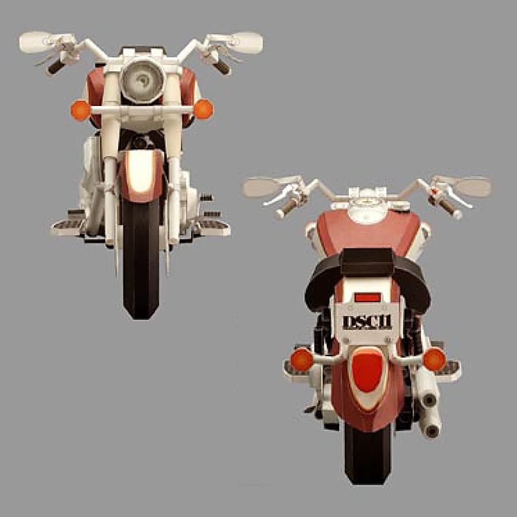 Mô hình giấy xe máy Yamaha DSC11