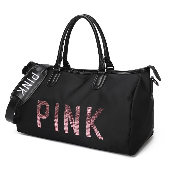 Túi thể thao Pink kim sa