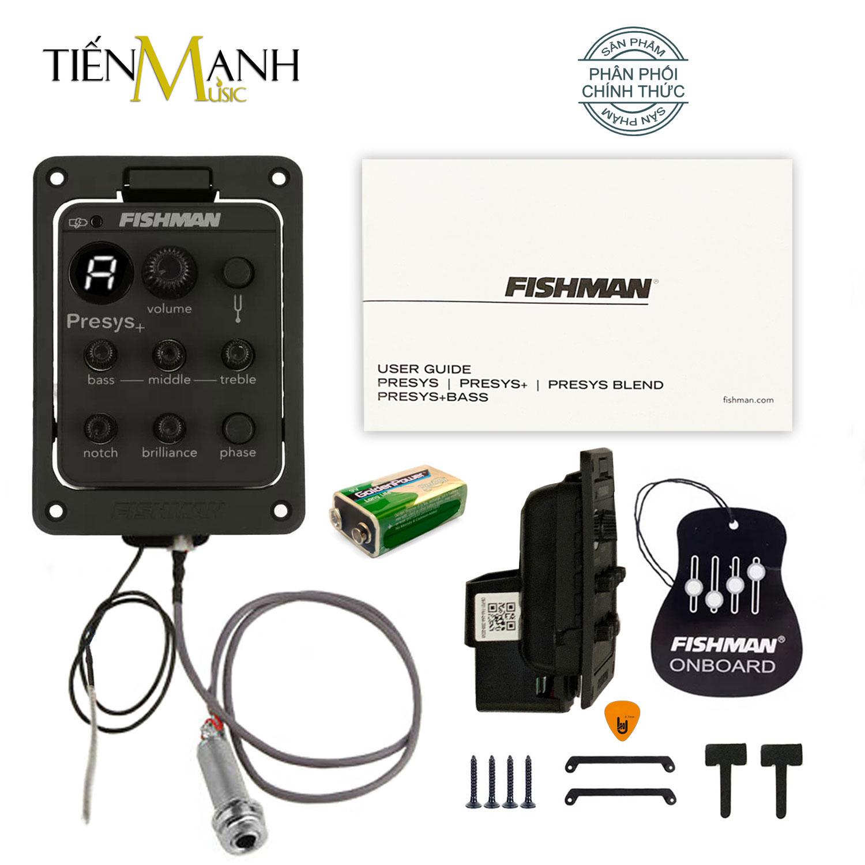 [Chính Hãng] EQ Fishman PRO 201 cho Đàn Guitar PSY-FAA-QAA (PRO-PSY-201) Presys Plus - Thiết bị Thu âm Equalizer Finger Style - Kèm Móng Gẩy DreamMaker