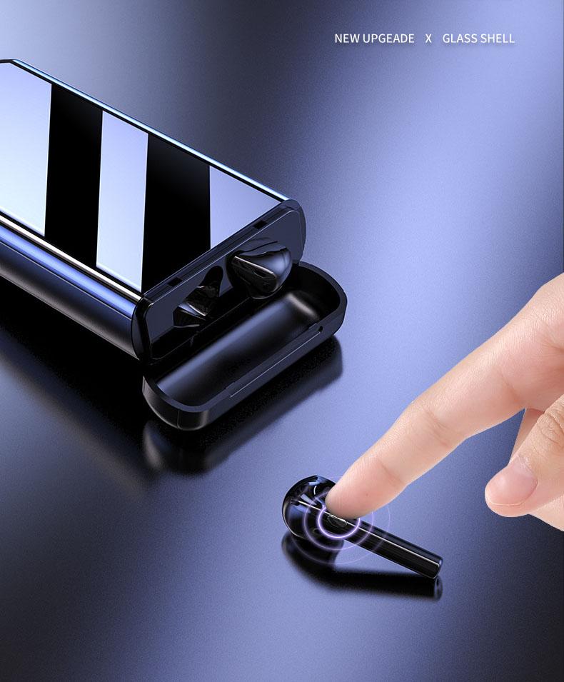 Tai nghe không dây Bluetooth KM-K100, kiêm Pin sạc dự phòng điện thoại dung lượng cao 10.000mAh - Hàng chính hãng