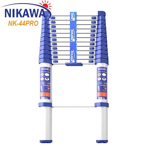 Thang Nhôm Rút/Xếp Đơn Nikawa NK-44PRO chiều cao 4,4m