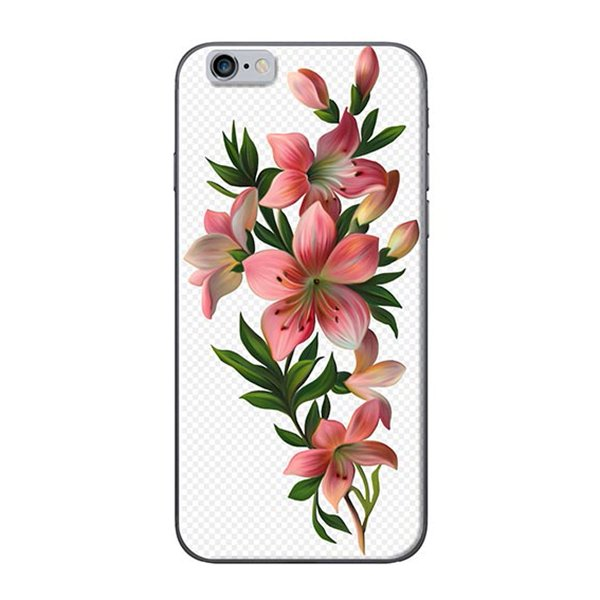 Ốp Lưng Dành Cho iPhone 6 Plus  6S Plus Hoa Sơn Dầu