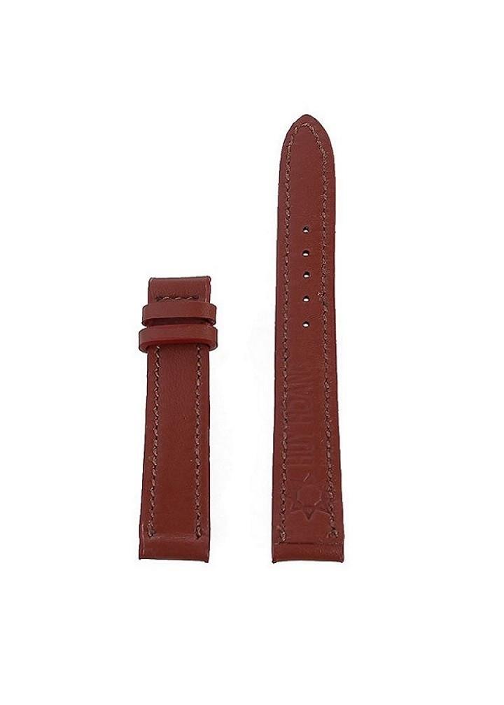 Dây đồng hồ nam nữ Huy Hoàng da bò size nhỏ màu nâu đỏ-HT8104