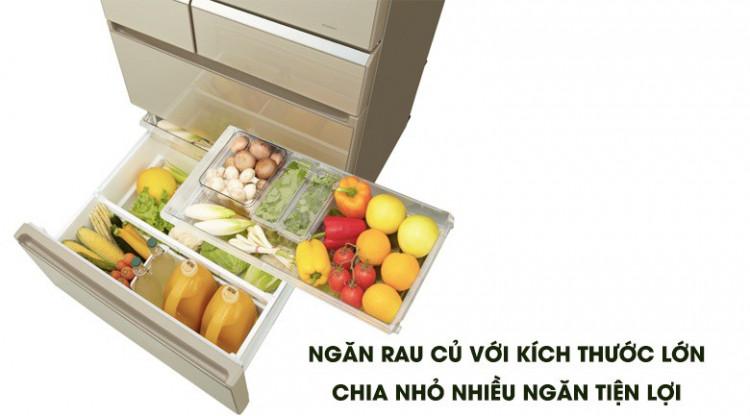 Công nghệ Inverter - Tủ lạnh Panasonic Inverter 589 lít NR-F603GT-N2
