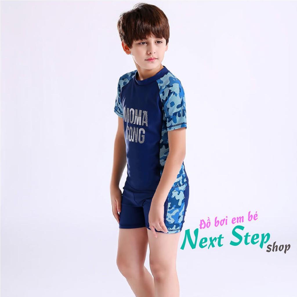 Đồ bơi cho bé trai quần short size lớn đến 55kg
