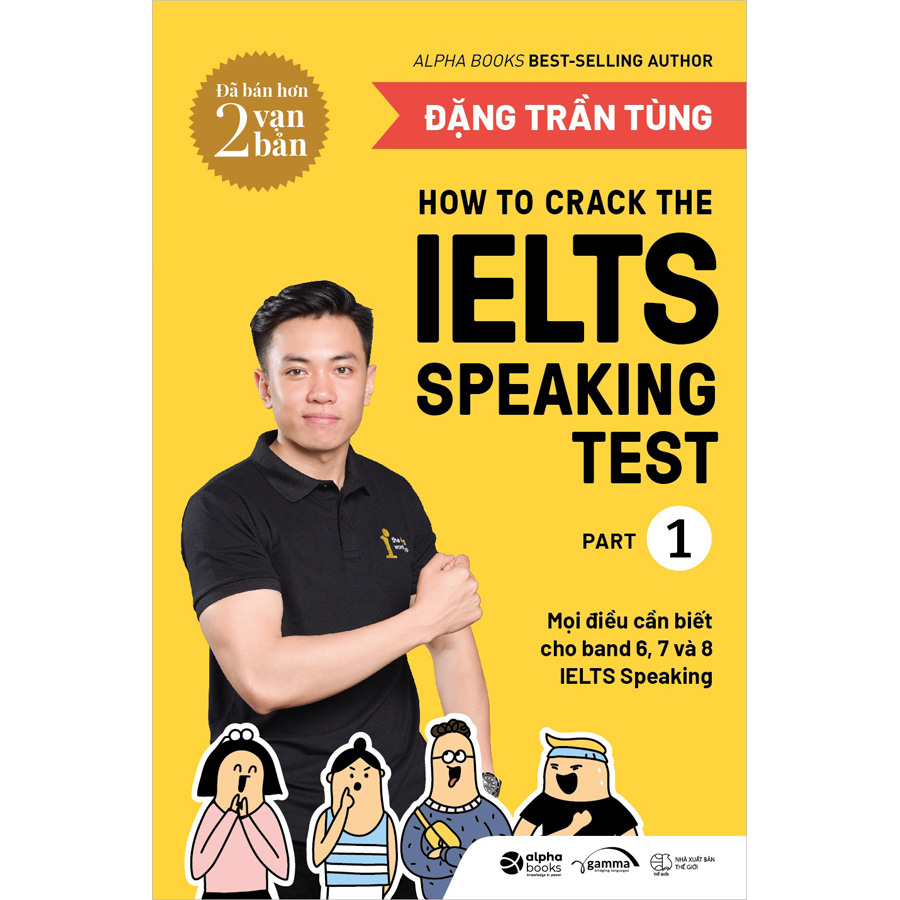 Combo 2 Cuốn: How To Crack The IELTS Speaking +Writing Test