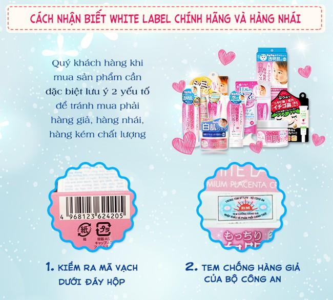 Essence Tinh Chất Trắng Da Nhau Thai Đậm Đặc White Label Nhật Bản