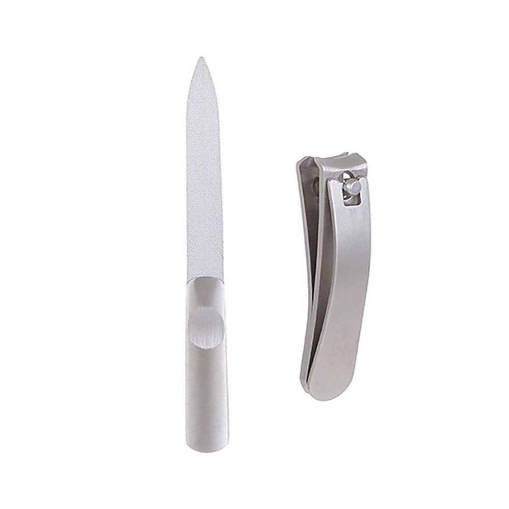 Bộ cắt móng tay Miniso (Bạc) - Hàng chính hãng
