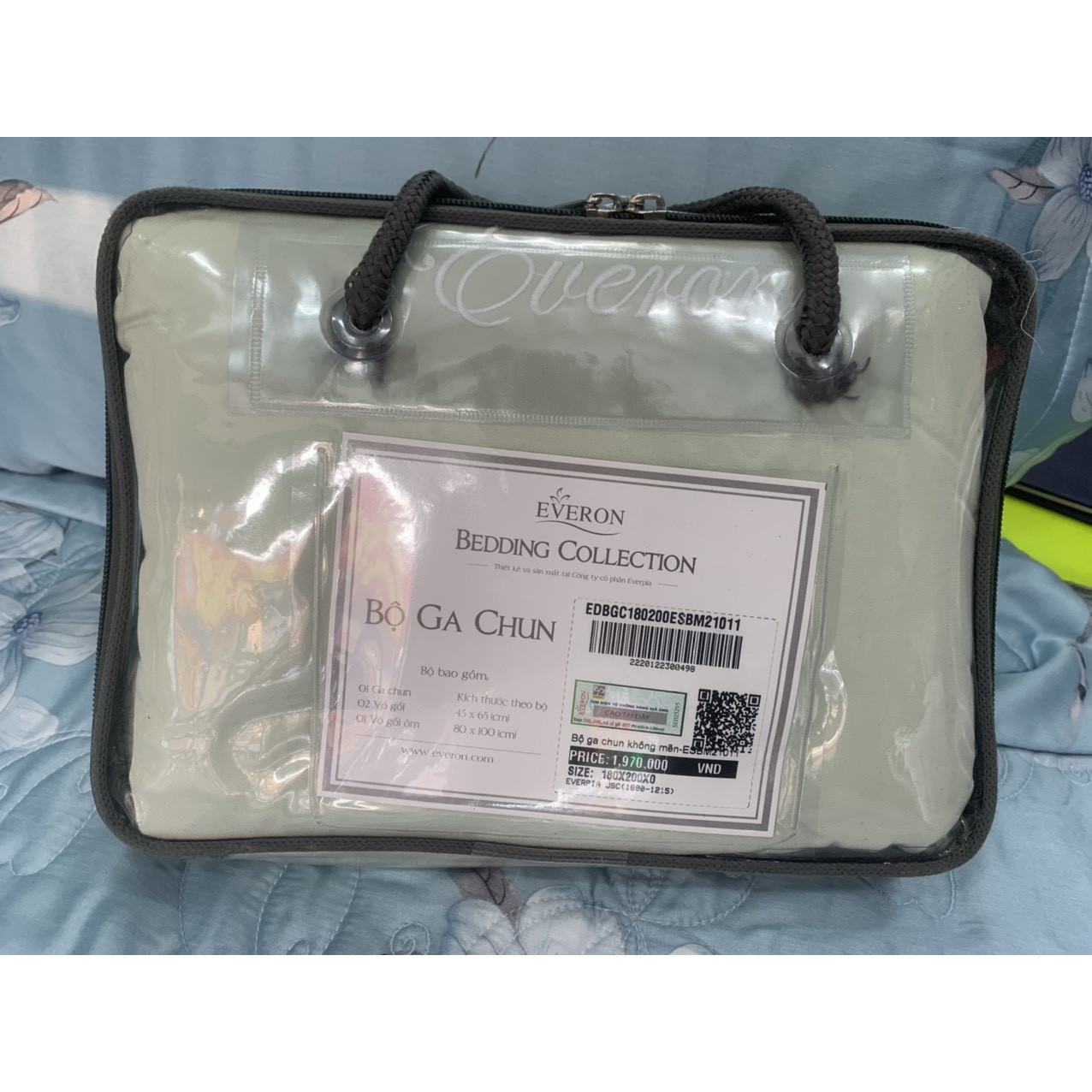 Bộ ra chun Everon ESM21011 ( không chăn 4 món )