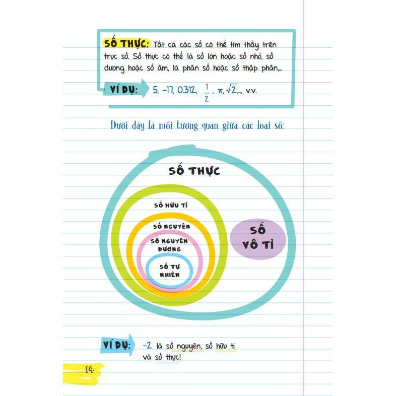 Sách : Sổ Tay Toán Học - Sách Tham Khảo Toán ( Dành Cho Bé Từ 9 tuổi - THCS )
