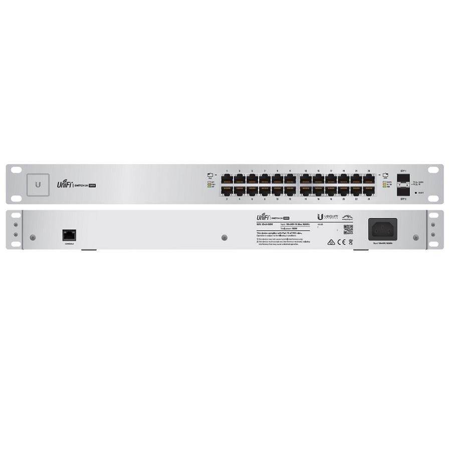 Thiết bị chuyển mạch Switch Unifi US-24-250W - Hàng chính hãng