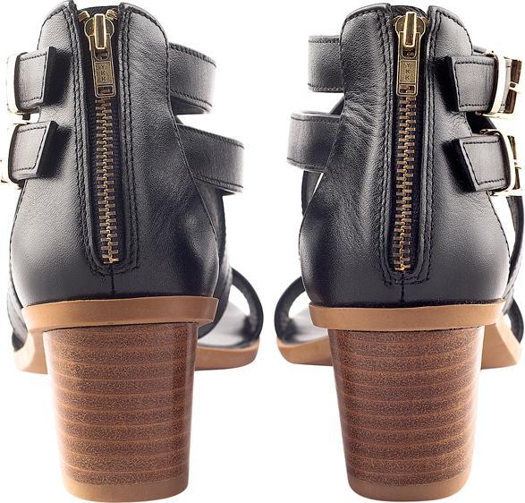 Giày Da Thật Nữ 5 Phân X Champagne Gosto GDW023200BLK - Đen