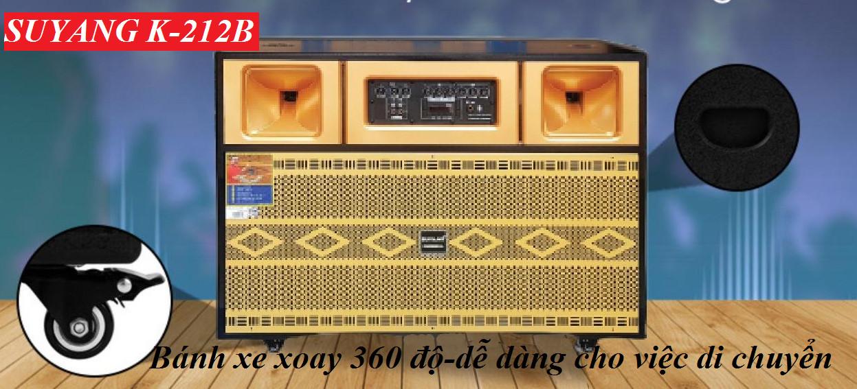 LOA KÉO SUYANG K-212B -HÀNG CHÍNH HÃNG