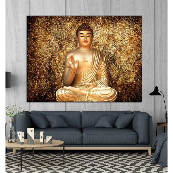 Tranh canvas Đức Phật Treo Tường Trang Trí