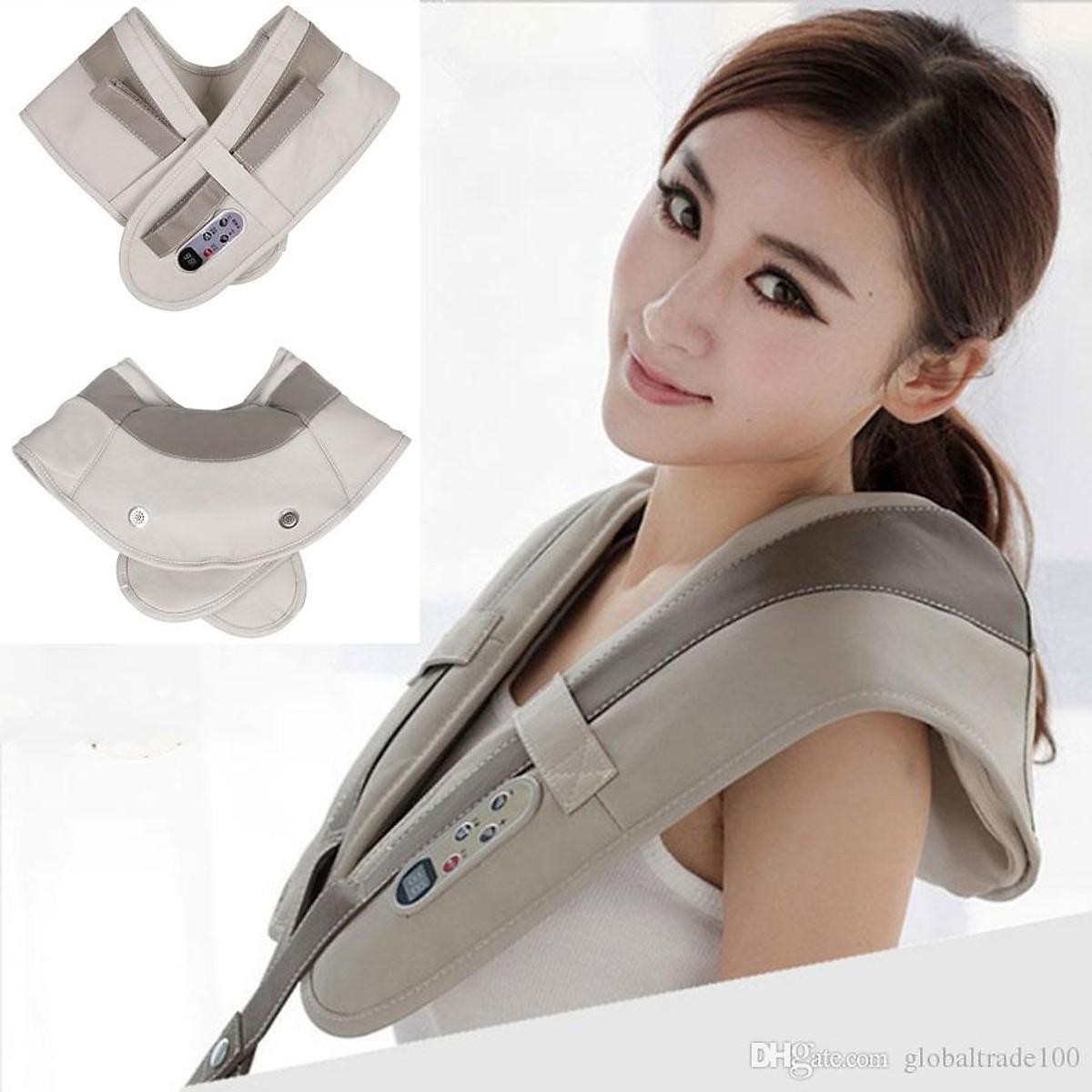 Đai đeo - máy mát xa massage lưng cổ giải tỏa căng thẳng tôn vinh dáng đẹp - NPD-MSLW808-651