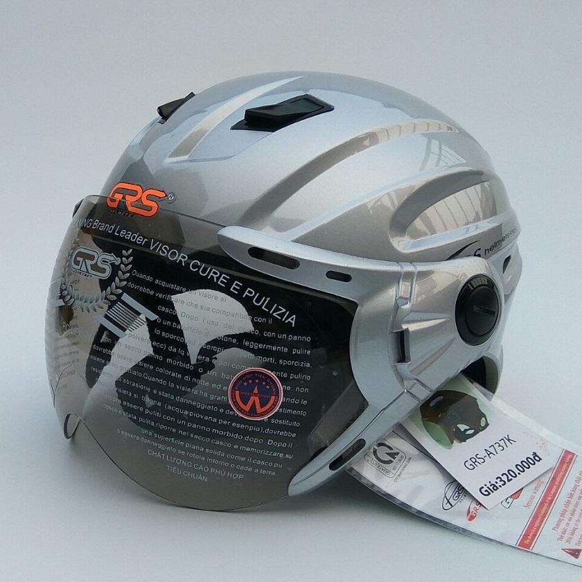 Mũ bảo hiểm nửa đầu GRS A737K