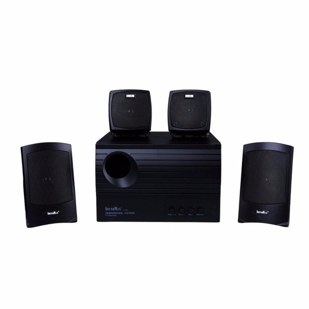 Loa Vi tính 4.1 Soundmax A4000 Âm Thanh Chất - Loa Bluetooth Nhãn hiệu OEM
