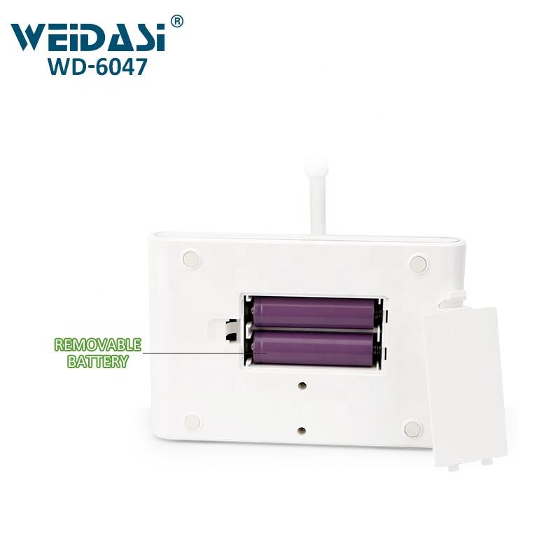 Đèn LED sạc để bàn 3 chế độ sáng, có thể tăng giảm ánh sáng WD-6047