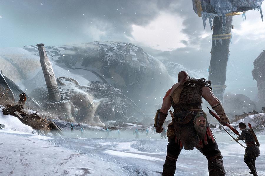 Đĩa Game PlayStation PS4 Sony God Of War 4 - Hàng Nhập Khẩu