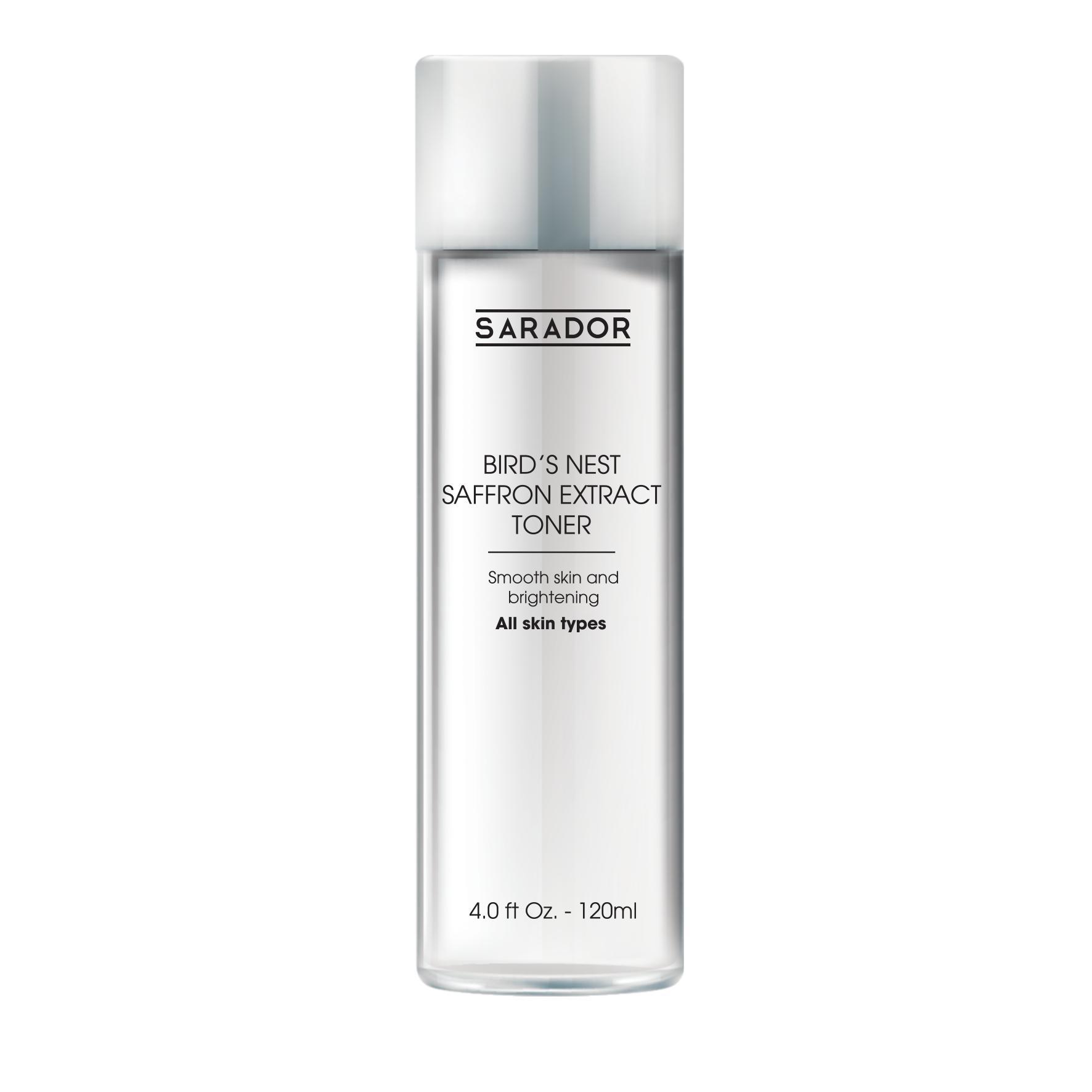 Toner dưỡng trắng và làm sạch sâu bề mặt da