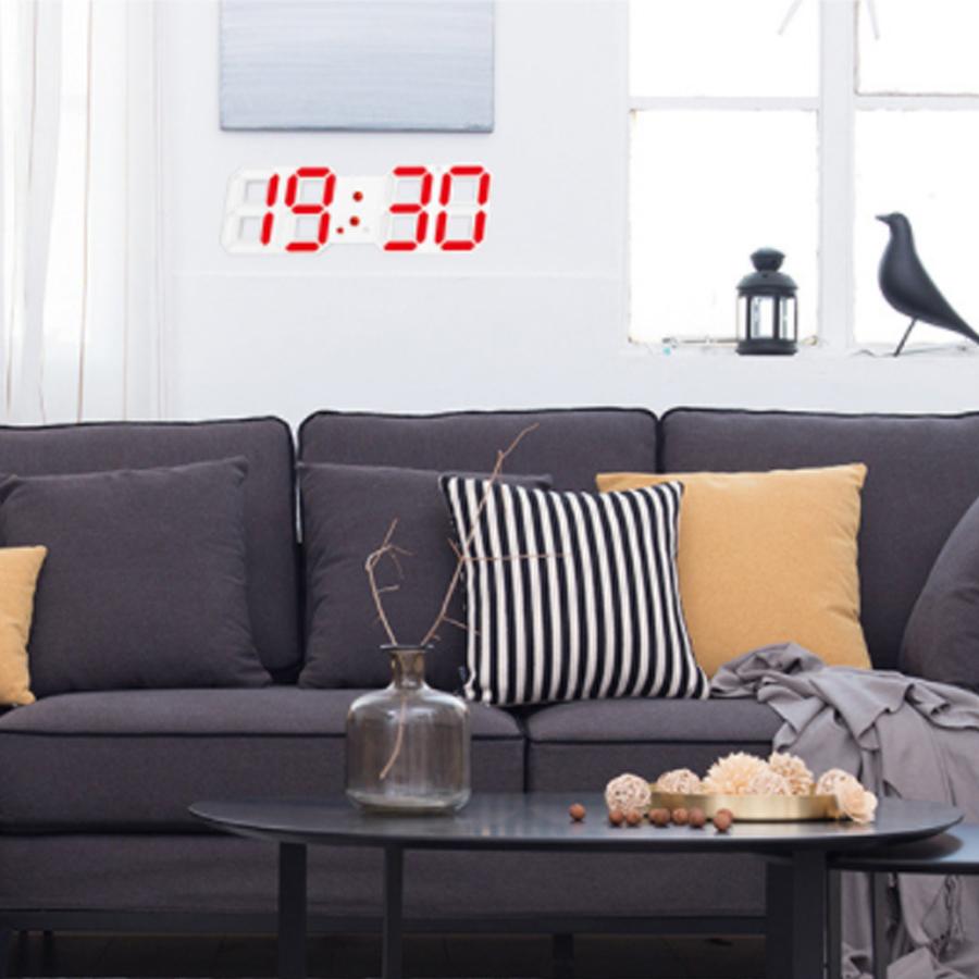 Đồng hồ LED để bàn hiện đại/ Đồng hồ LED nhiều màu sắc